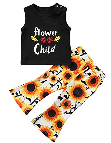 Toddler Girl Sleeveless Outfits Miss Sassy Pants Floral Shorts Set Clothes Black