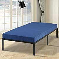 Olee Sleep VC04TM02T Tri-Folding Memory Foam Mattress (TWIN, 38 x 78)