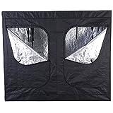 Giantex Indoor Grow Tent Room Reflective Mylar Hydroponic Non Toxic Clone Hut 6 Size (96''X48''X78'')