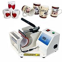 "Ridgeyard Digital Display Horizontal Cup Mug Heat Transfer Press Sublimation Printing Machine Coffee Mug 3""x8"""