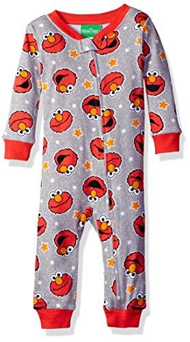 sesame-street-baby-boys-elmo-onesie-red-24m