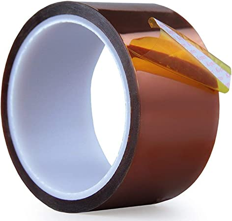 for Heat Transfer Vinyl,Masking,3D Printing,Soldering High Temperature Heat Resistant Tape 20mm X108ft AIYUNNI Kapton Tape Polyimide Film Adhesive Tape Heat Press Tape Sublimation Tape