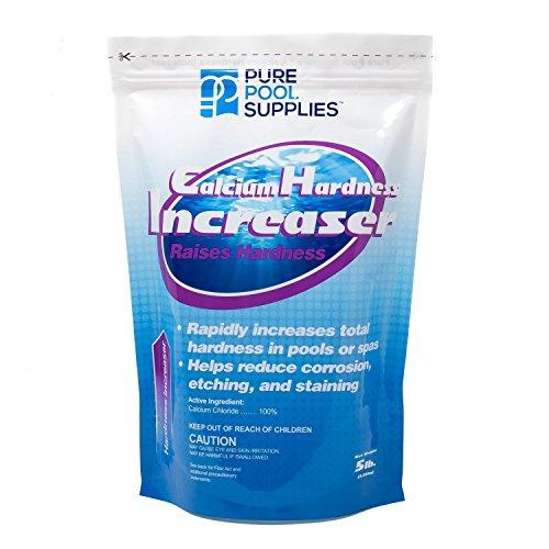Pure Pool Supplies Calcium Hardness Increaser 5 Lb. (Calcium Up Calcium Chloride) Pool Spa Balancer