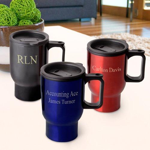 Personalized Travel Mug by Abernook