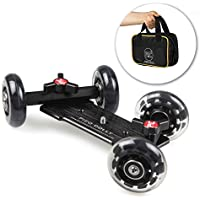 Pico Flex Dolly Only Digital DSLR Skater Camera Dolly Slider Table Top Dolly By Photography and Cinema