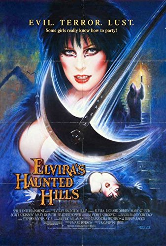 Elvira's Haunted Hills Movie Poster