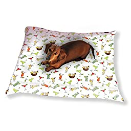 Summer Cocktails Dog Pillow Luxury Dog / Cat Pet Bed