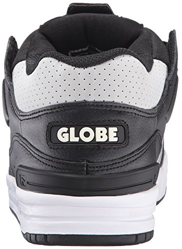GLOBE Skateboard Shoes FUSION BLACK/GRAY/WHITE Size 9