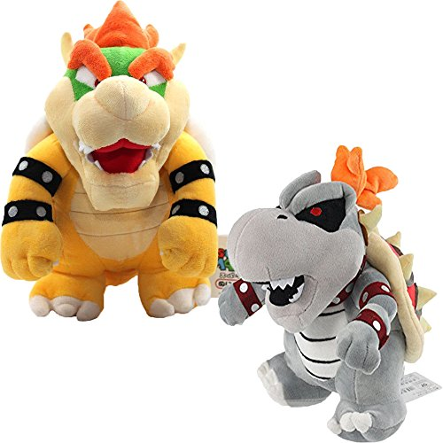 Bowser 10'' with Dry Bones Bowser 10'' Plush ()