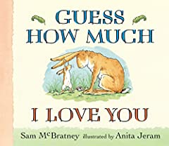"""A big board book format — perfect for lap sharing.""""I love you right up to the moon — and back."""" The cherished story of Little and Big Nutbrown Hare as they playfully vie to express their love for each other has been a favorite of children aro..."""
