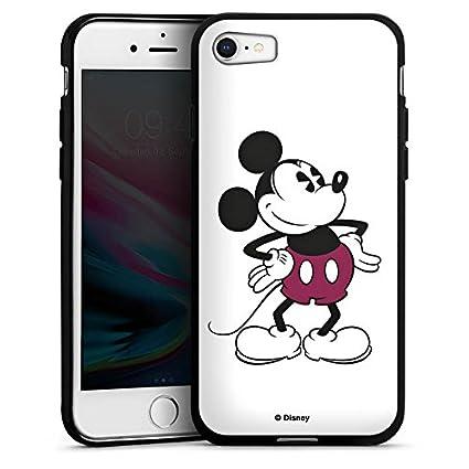 DeinDesign Silikon Hülle Case Schutzhülle für Apple iPhone 8 Micky Maus Mickey Mouse Retro Geschenke Merchandise
