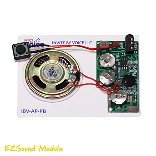 Cheapest Price! Set of 3 EZSound Module - Push Button Activated