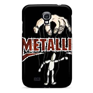 AlainTanielian Samsung Galaxy S4 Scratch Resistant Cell-phone Hard Covers Customized Nice Metallica Image [dWp4562jirW]