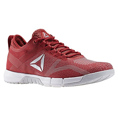 Coral Crossfit wht Tr Rouge fire Sneaker Reebok Femme Grey skull Grace Canyon Basses slv R Red rosso 4qtwFn57Zx