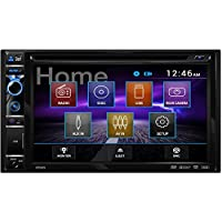 Dual DV605 6.2 Double-Din In-Dash Dvd Receiver with Touchscreen