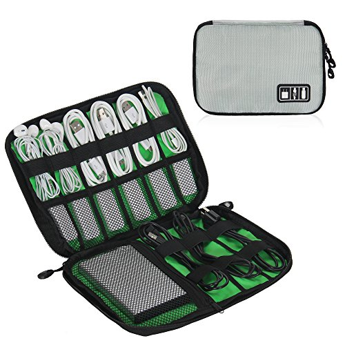 Universal Electronic Accessories Organizer Bag Case Waterproof Travel Gadget Bag For Various USB, Phone, Charger and Cable by Showroom 16