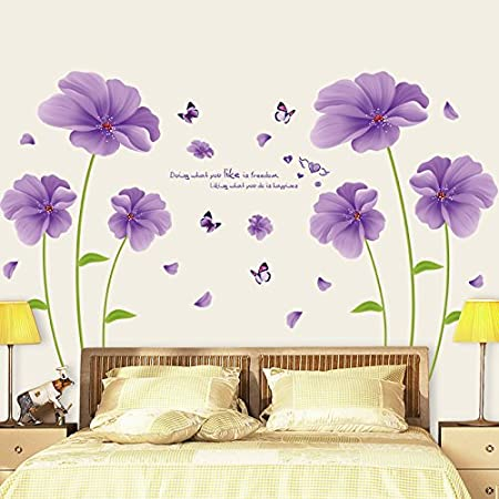 Vinyl Wall Sticker Home Room Bedroom Decoration Decal Self Adhesive Backdrop