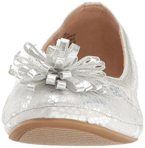 Eloy Bandolino Flat Ballet Women's Silver YxqaBp