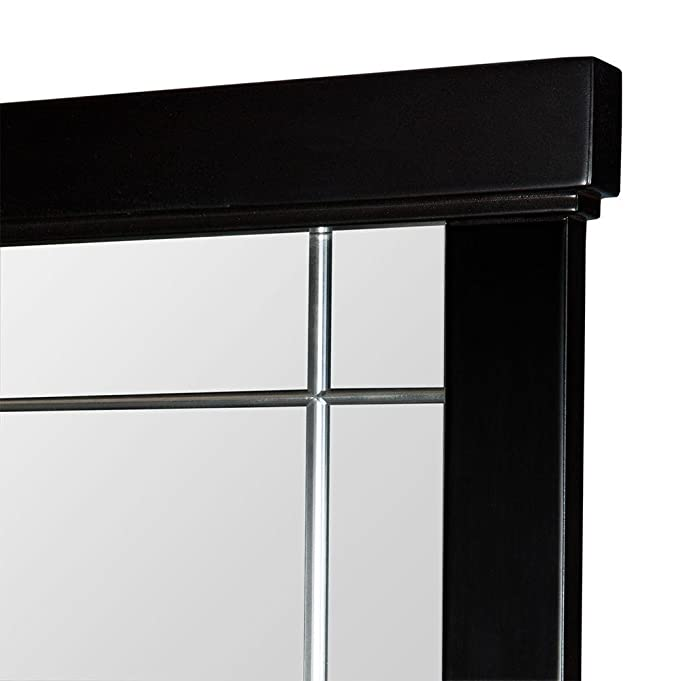 Amazon com home decorators collection zen 38 in vanity mirror in espresso home kitchen