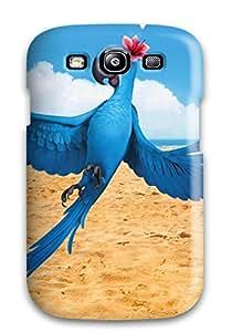 New Premium Flip Case Cover Jewel In Rio Movie Skin Case For Galaxy S3