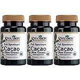Full Spectrum Cacao (Raw Cocoa) 400 mg 60 Caps by Swanson Premium (3)