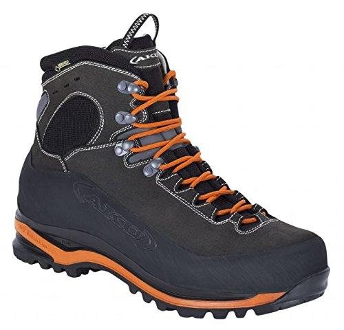 AKU Superalp GTX Backpacking Boot - Men's-Anthracite/Orange-Medium-11.5 GU0115-ANT-11.5 by AKU