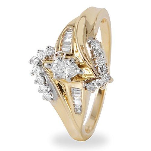 0.45 Ct Marquise Diamond - 2