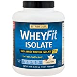 Fitness Labs WheyFit Isolate – 100% Whey Protein Isolate (5 Pounds, Creamy Vanilla) Review
