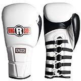 Ringside IMF Pro Fight Gloves, White, 10-Ounce