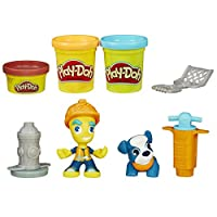 Play-Doh Play-Doh Construction Worker and Pet