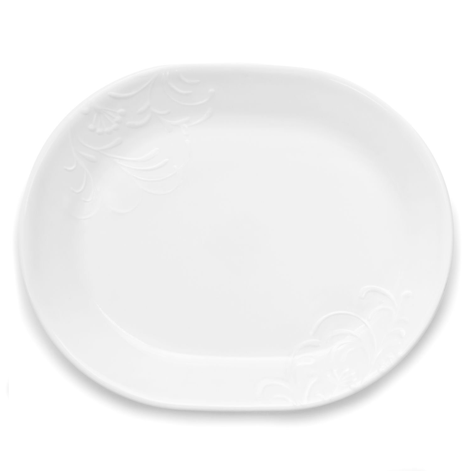 "Amazon.com: Corelle Boutique Cherish 12.25"" Serving Platter: Kitchen &  Dining"