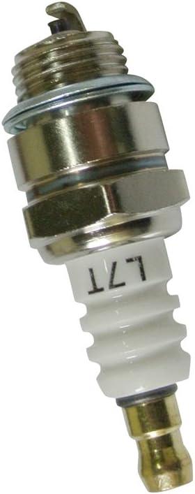 Bujía L7T para desbrozadora, motosierra, cortacésped, cortasetos cortadora Husqvarna modelos 346XP 340345346 350351353365y varias bicicletas
