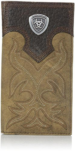 Ariat Boot Embroidery Rodeo Brown Wallet product image