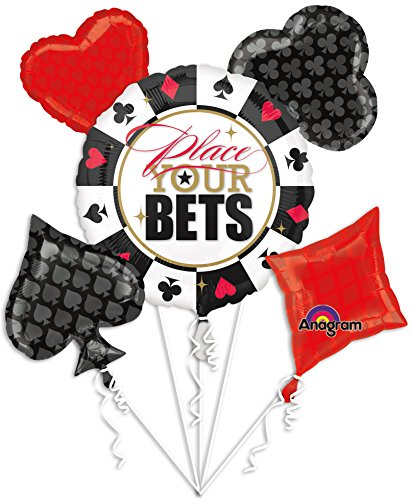 Anagram Ballooney's ~ Place Your Bets Bouquet Of Balloons]()
