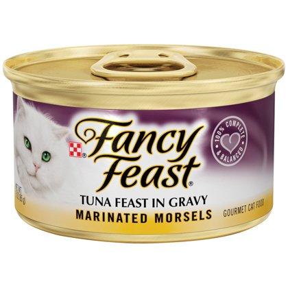 Fancy Feast Marinated Morsels Tuna Feast in Gravy 24/3oz