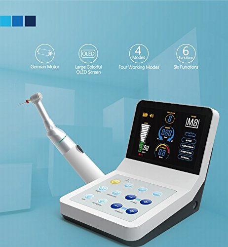 Apex Locator Endodontic R-SMART with Root Canal Finder Endo Equipment with Large Colorful OLED Screen Mode