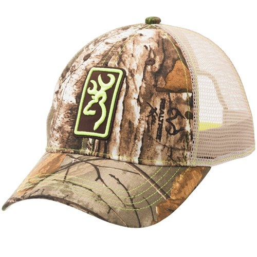 Browning-Conway-CapMeshRealtree-XtraLime-Green