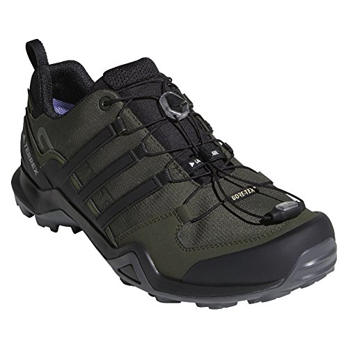 adidas outdoor Terrex Swift R2 GTX Mens Hiking Boot Night Cargo/Black/Base Green, Size 6 by adidas outdoor (Image #4)