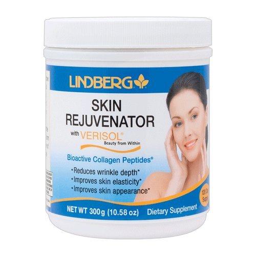 Lindberg Verisol Skin Rejuvenator Powder, 120 Servings of 2.5 Grams
