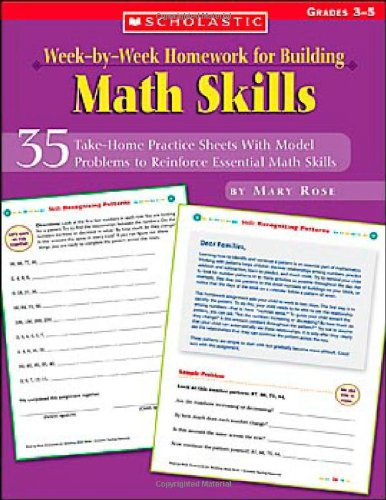 Week-by-week Homework For Building Math Skills