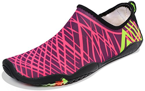 Shoes Sports Red for Dry Swim Beach c Aqua Z Heeta Women Shoes Swim Quick thick Rose Socks Men Water Barefoot 5Uqx1twE
