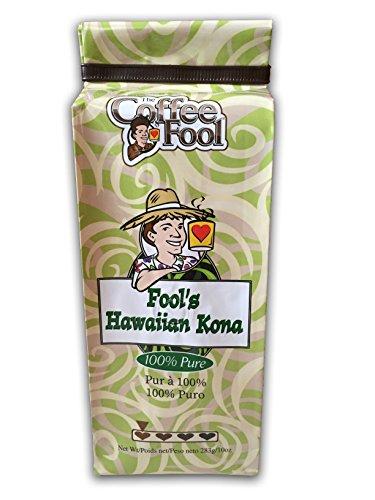 The Coffee Fool Fool's Hawaiian Kona, Drip Grind, 10 Ounce