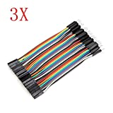 120Pcs 10cm Male To Female Jumper Cable For Arduino