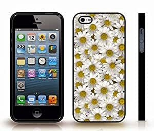 iStar Cases? iPhone 4 Case with Camomiles, Photo, Close-up , Snap-on Cover, Hard Carrying Case (Black)