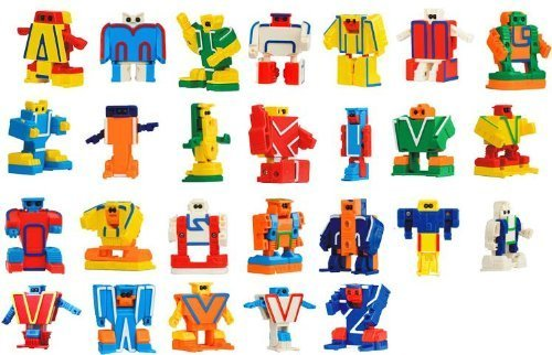 ABC Robo Alpha bot 26 pieces BOX (japan import)