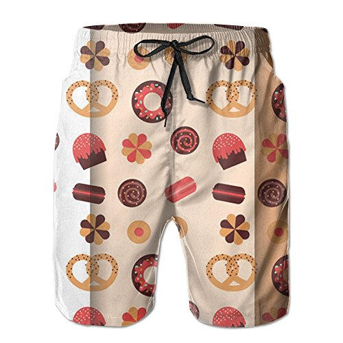 Cheap ETRBSF Sugar Chocolate Biscuit Cake Designer Summer Short Cute Outdoor Sport Mens free shipping