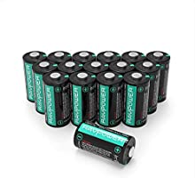 Lithium Batteries RAVPower Non-Rechargeable Lithium Battery