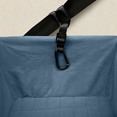 Kurgo Rover Booster Dog Car Seat with Seat Belt Tether, Black/Blue by Kurgo (Image #4)
