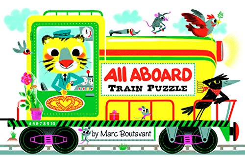 All Aboard Train Puzzle - Aboard Trains All