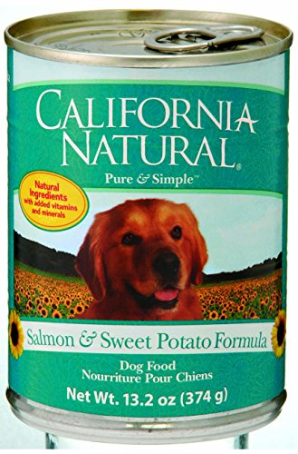 California Natural Salmon & Sweet Potato Canned Dog Food
